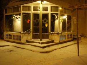 Carpenter & Greene in snow
