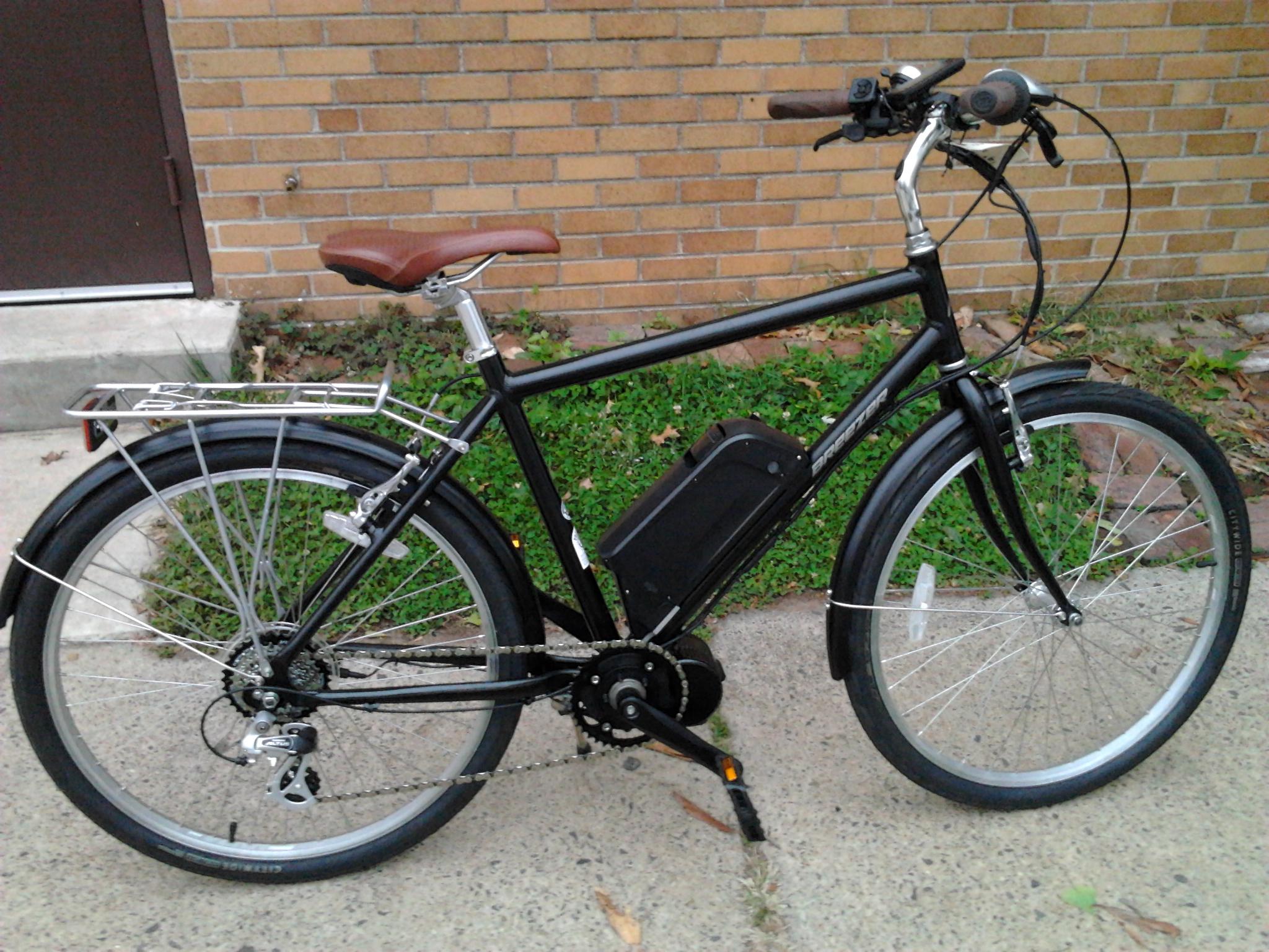 The bafang mid drive motors on a phew bikes phew for Mid motor electric bike
